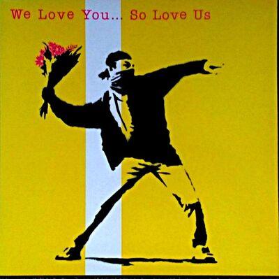 Banksy, 'We Love You So Love Us LP', 2000