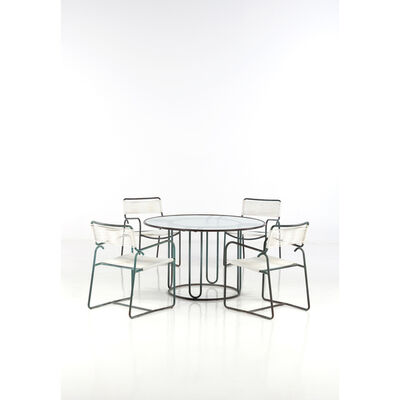 Walter Lamb, 'Set Of A Table And Four Chairs', 1952