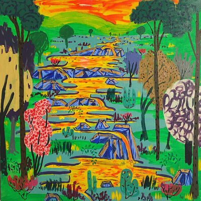 Benjamin King, 'Garden of Material', 2021