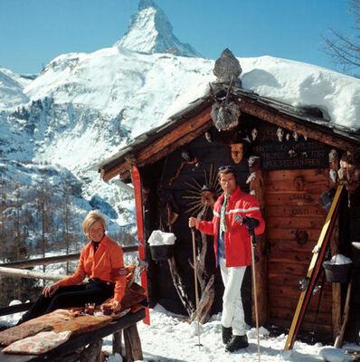Slim Aarons, 'Chalet Costi, Zermatt, 1968', 1968