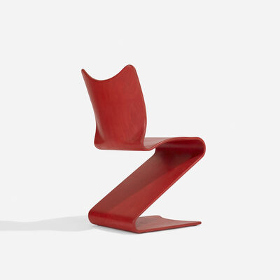 Verner Panton, 'S-Chair, Model 275', 1956
