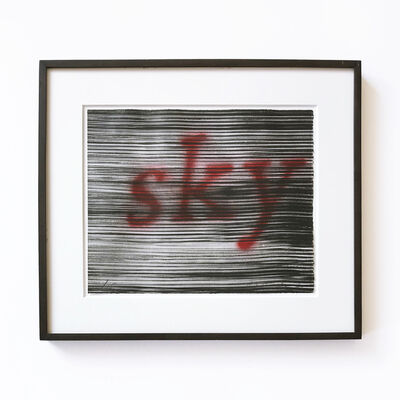 Ed Ruscha, 'This Sky', 1991
