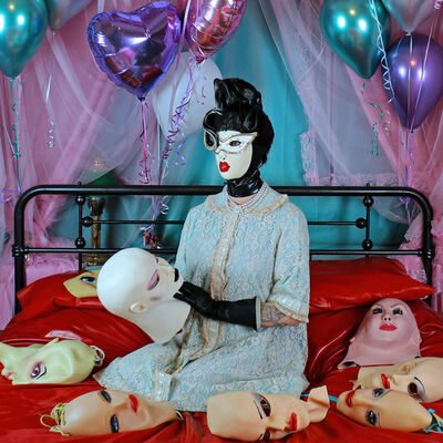 """Kat Toronto (Miss Meatface), 'The Choosing Party: """"Who will I wear today?""""', 2021"""