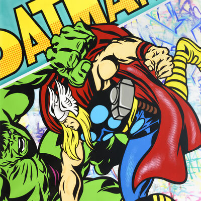 SEEN, 'Hulk vs The mighty Thor #1', 2014