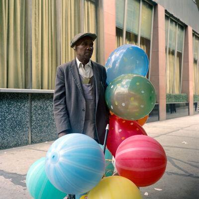 Vivian Maier, 'Man With Balloons (VM19XXZ06746)'