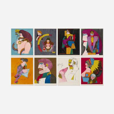 Richard Lindner, 'After Noon portfolio', 1976