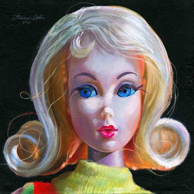 Thomas Webb, 'Twist'n Turn Barbie Marlo Flip Hair, Mattel 1969', 2020