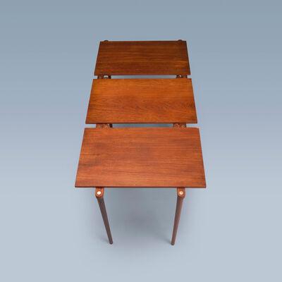 Danish furniture design, 'Three nesting tables', 1950-1969