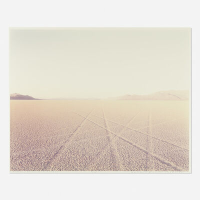 Richard Misrach, 'Tracks, Black Rock Desert, Nevada (from Desert Canto VIII: The Event II)'