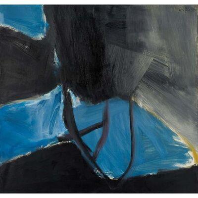José Guerrero (b. 1914), 'Blue and black', 1962