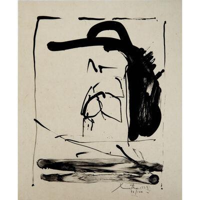 Robert Motherwell, 'The Robinson Jeffers print', 1981