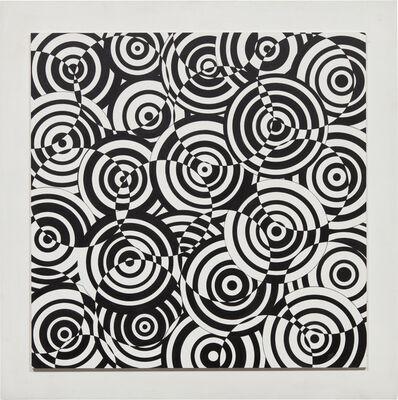 Antonio Asis, 'Interférences en blanc et noir', 1972