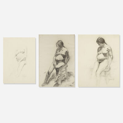 William Beckman, 'collection of three works', 1968