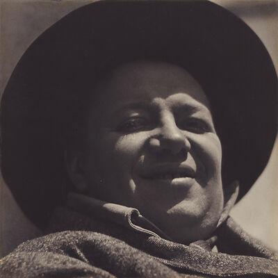 Edward Weston, 'Diego Rivera, Mexico', 1924