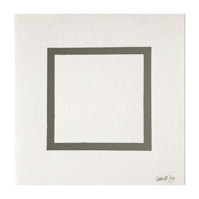 Sol LeWitt, 'Grey Square', 1986