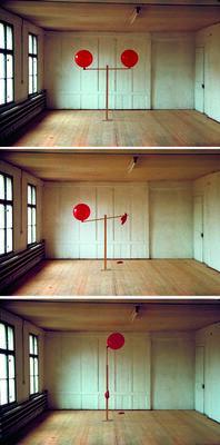 Roman Signer, 'Zwei Ballone', 1983