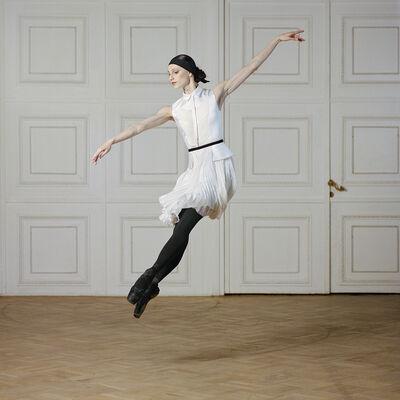 Valery Katsuba, 'Ballerina in a jump in the Titian Hall', 2013