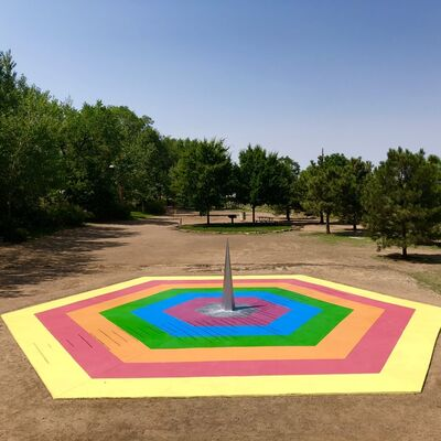 Eduardo Navarro, 'Galactic Playground', 2018