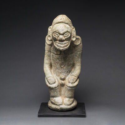 Unknown Pre-Columbian, 'Taino Stone Zemi Sculpture', 1100 AD to 1500 AD