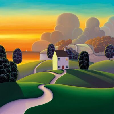 Paul Corfield, 'Amber Bay', 2019