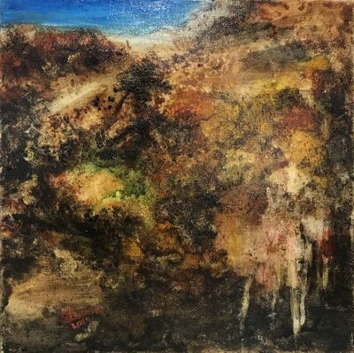 Shyama Nadimpalli, 'Serenity in the Mountains- The Road', 2019