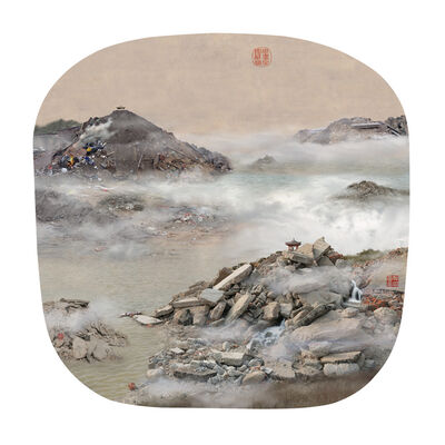 YAO LU 姚璐, 'View of Autumn Mountains in the Distance', 2008