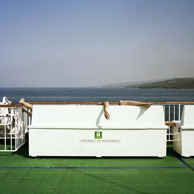"Steffen Roth, '""Ferry Tale"", Adria, Croatia', 2011"