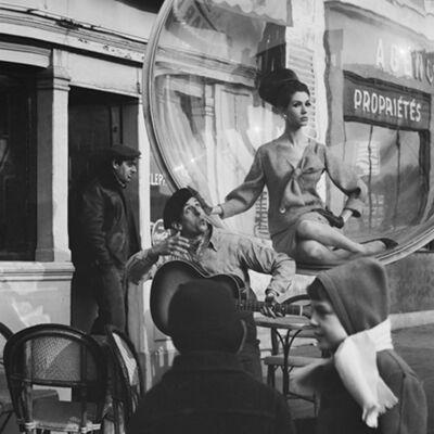 Melvin Sokolsky, 'Serenade Kiss, Paris', 1963