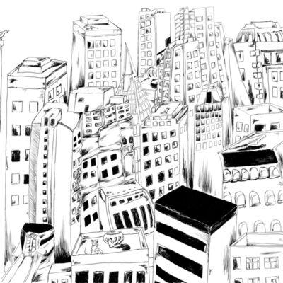Gerald Wiggins, 'Cityscape', 2017