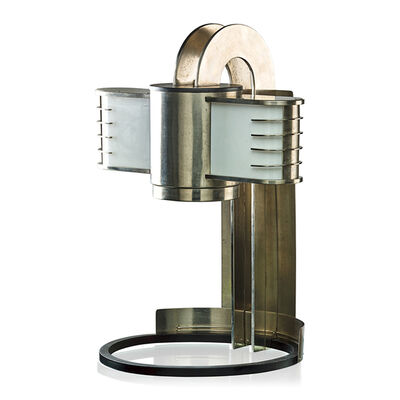 Style Of Kem Weber, 'Large bench-made table lamp, USA', 1920s