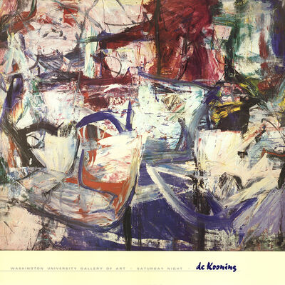 Willem de Kooning, 'Saturday Night', 1988