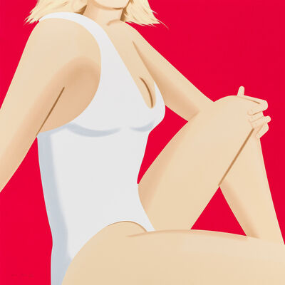 Alex Katz, 'Coca Cola Girl #7', 2018
