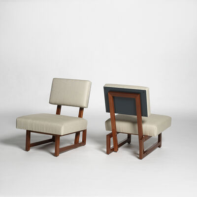 André Sornay, 'Four chairs ', ca. 1960