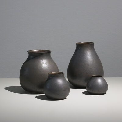 Sunna Jonsdotter, 'Unique stoneware vases, group IV', 2019