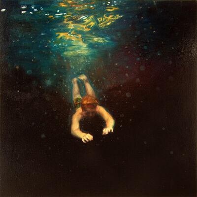 Jennifer Walton, 'Dark Water Swim 5', 2015