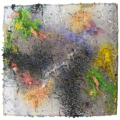 Fabian Marcaccio, 'Pictorial Wormhole', 2017
