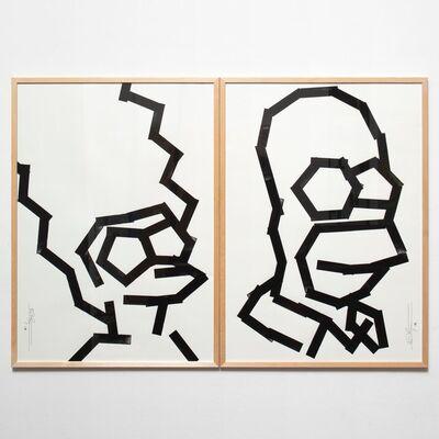 Eike König, 'Homer & Marge', 2019