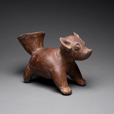 Colima Culture, 'Colima Vessel in the Form of a Dog ', 300 B.C. to 300 A.D.