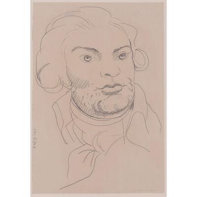 Gilles Aillaud, 'Portrait de Danton', 1989