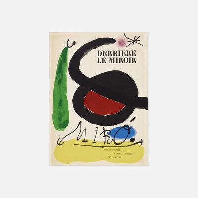 Joan Miró, 'Derriere Le Miroir: L'Oiseau Solaire, L'Oiseau Lunaire - Etincelles', 1967