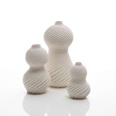 Andrew Wicks, 'Three Gourd Vases', 2019