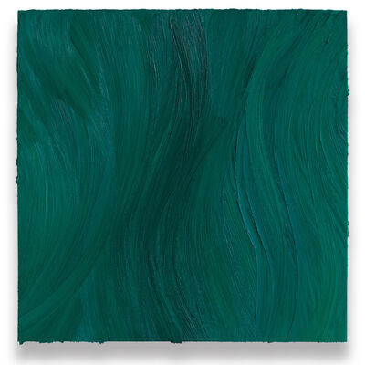 Jason Martin, 'Untitled (Turquoise blue deep / Caribbean blue)', 2020