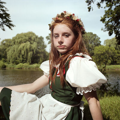 Naomi Harris, 'Maifest Maiden, Bavarian Festival, Frankenmuth, Michigan', 2010