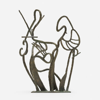 Marie Zoe Greene-Mercier, 'Orpheus and Eurydice', c. 1965