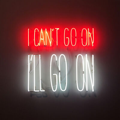 Alfredo Jaar, 'I can't go on. I'll go on', 2016