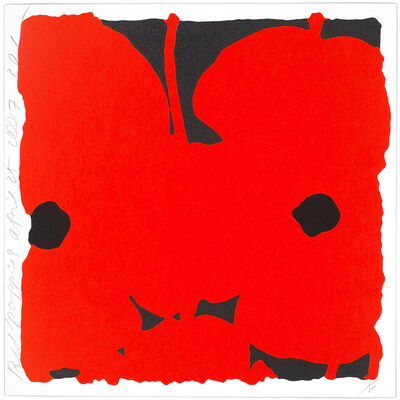 Donald Sultan, 'Red Poppies', 2007
