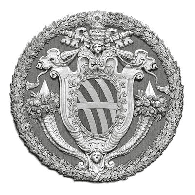 Arthur Borisov, 'Pope Clemens XII Coat of Arms. Rome, Italy', 2015