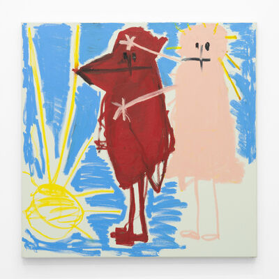 Andi Fischer, 'Hunderot', 2018