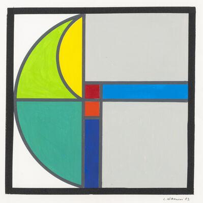 Luigi Veronesi, 'Untitled', 1983