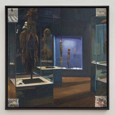 Sandra Gamarra, 'Criptomnesia IX (o en algunos museos nunca sale el sol)', 2020